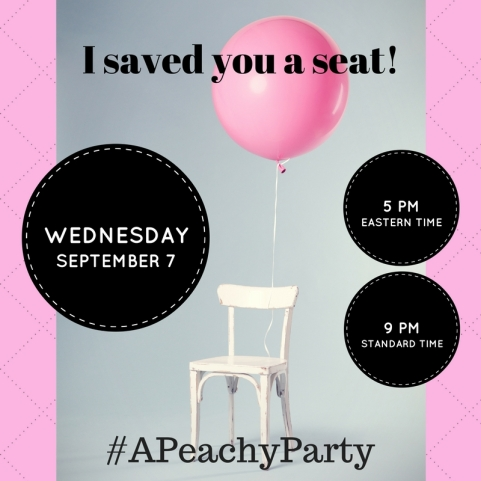 Twitter party invitation