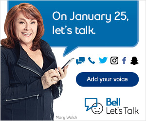 Bell Let's Talk Banner