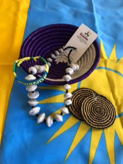 Beauty of Rwanda jewelry and bowl