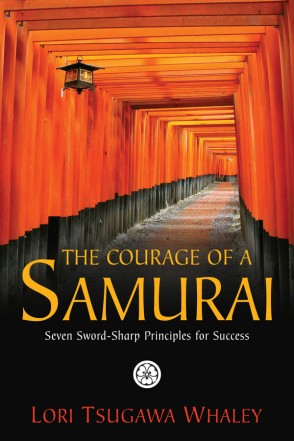 The Courage of a Samurai by Lori Tsugawa Whaley Book Cover