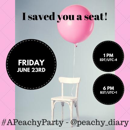 #APeachyParty
